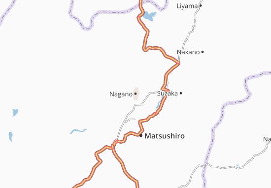 Nagano Map