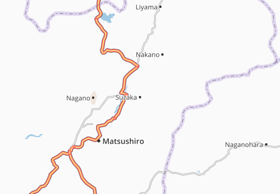 Suzaka Map