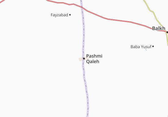 Mapas-Planos Pashmi Qaleh