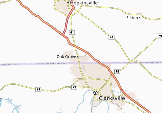 Mappe-Piantine Oak Grove
