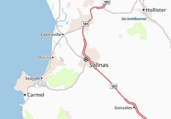 Carte-Plan Salinas