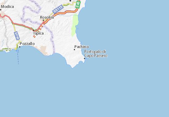 Mappe-Piantine Portopalo di Capo Passero
