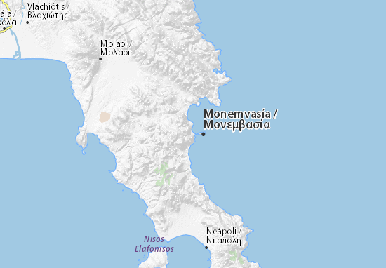 Géfyra Map