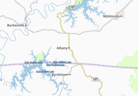 Carte-Plan Albany