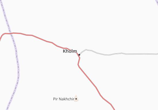 Mapa Plano Kholm