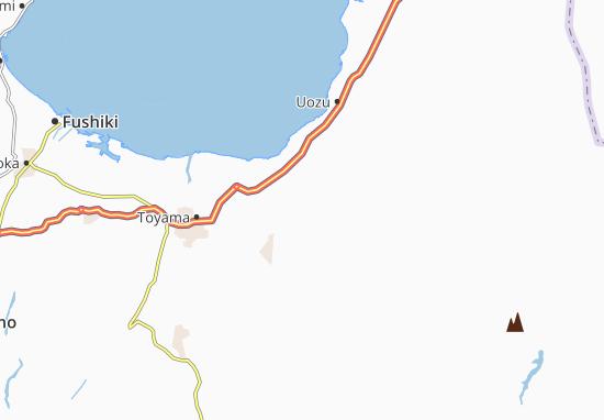 Kamiichi Map
