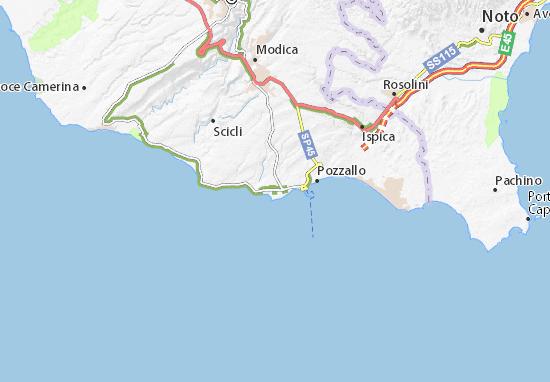 Mappe-Piantine Modica
