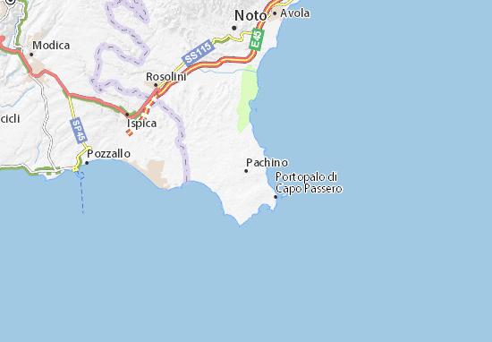Pachino Map