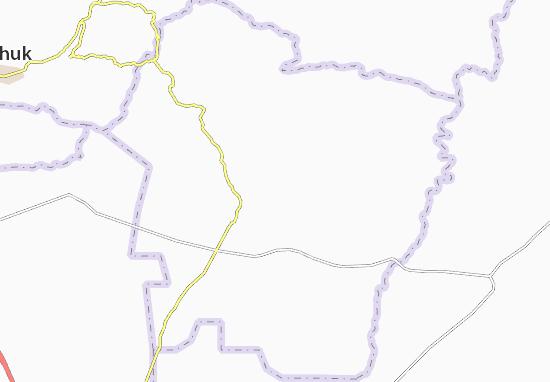 Carte-Plan Al Shikhan