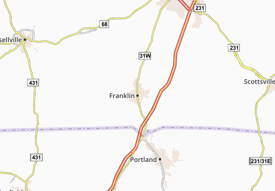 Franklin Map