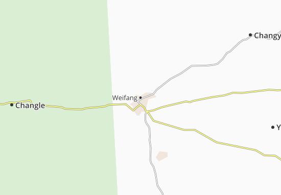 Weifang Map