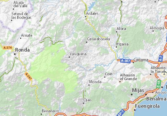 Alozaina Map