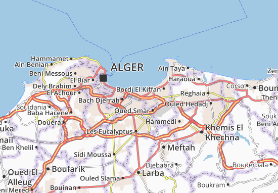 Carte-Plan Mohammadia