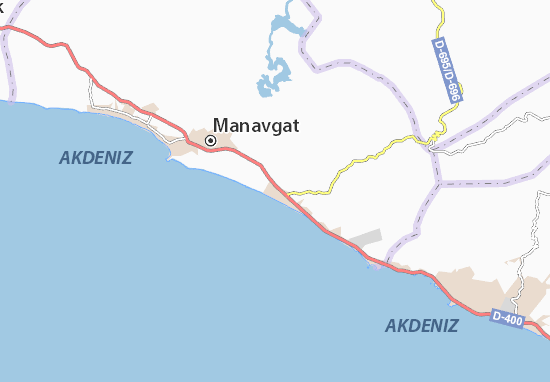Mapas-Planos Kızılağaç