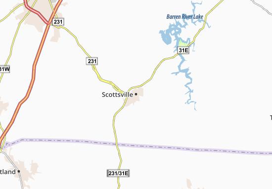 Carte-Plan Scottsville