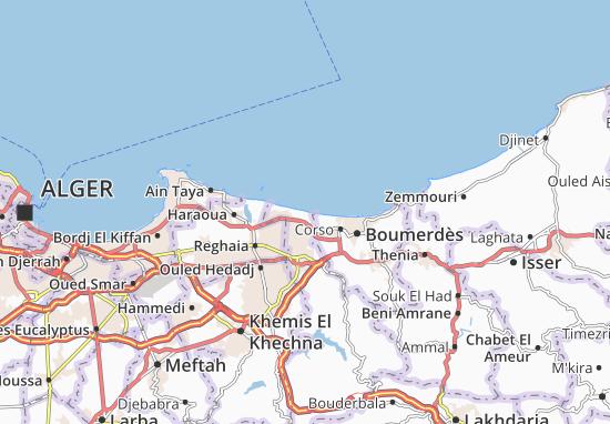 Carte-Plan Boudouaou El Bahri