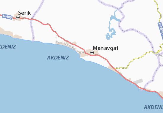 Karte Side Und Umgebung