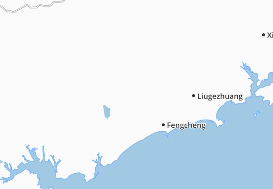 Map Of Dongcun Michelin Dongcun Map ViaMichelin - Fengcheng map