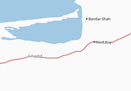 Mapas-Planos Bandar-e Gaz