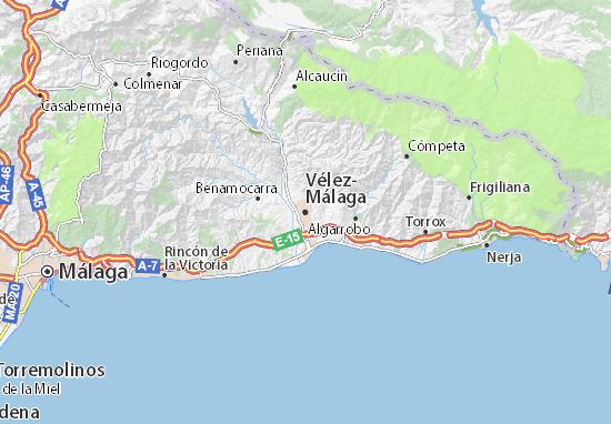Mapas-Planos Vélez-Málaga