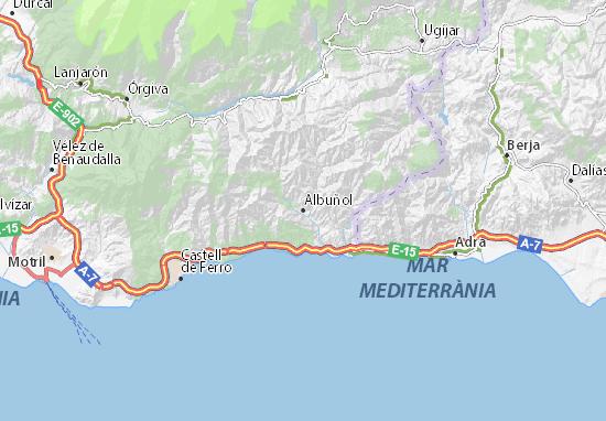 Mapas-Planos Albuñol
