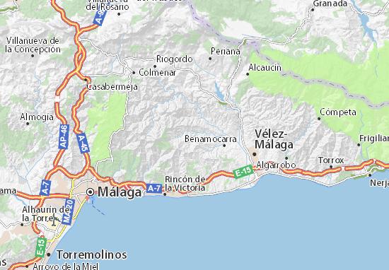 Torrox Espagne Carte.Almachar Map Detailed Maps For The City Of Almachar