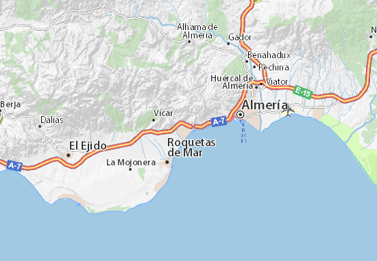 Aguadulce Map