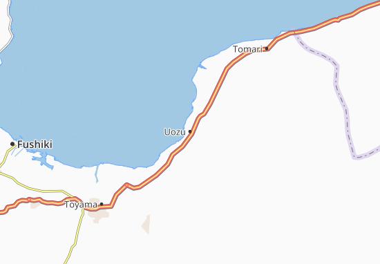 Mappe-Piantine Uozu