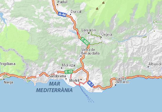 Mapas-Planos Vélez de Benaudalla
