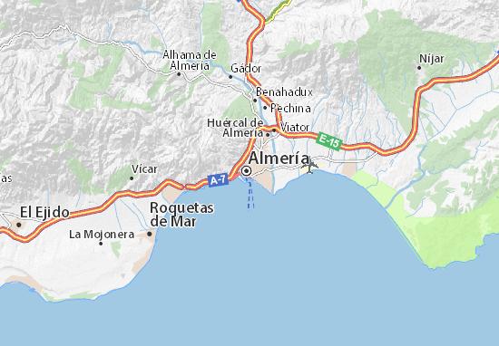 Mapa Plano Almería