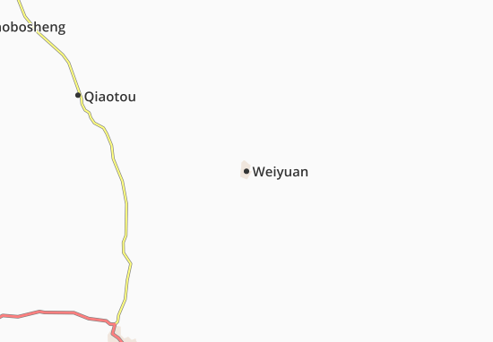 Weiyuan Map