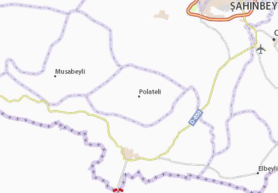 Carte-Plan Polateli