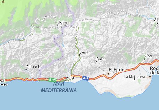 Berja Map