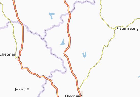 Carte-Plan Jincheon