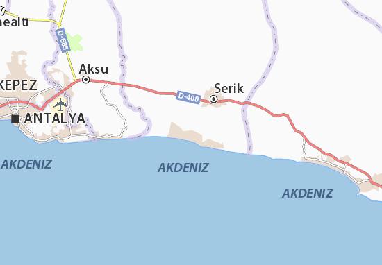 Belek Map