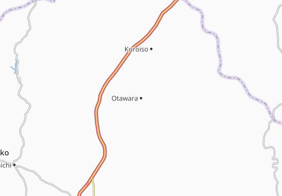 Carte-Plan Otawara