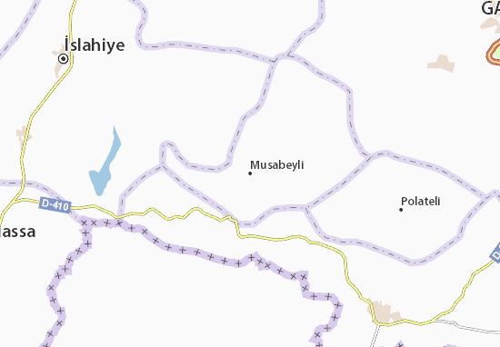 Carte-Plan Musabeyli
