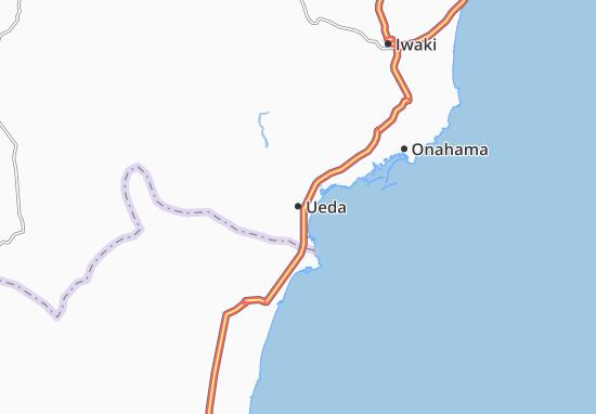 Mapa Plano Ueda