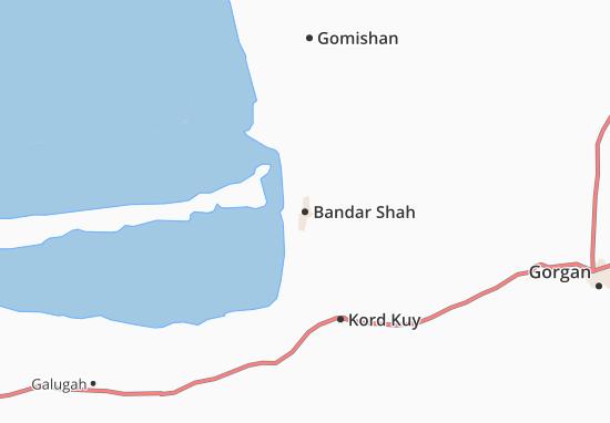 Mappe-Piantine Bandar Shah