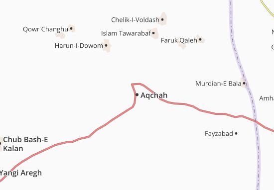 Aqchah Map