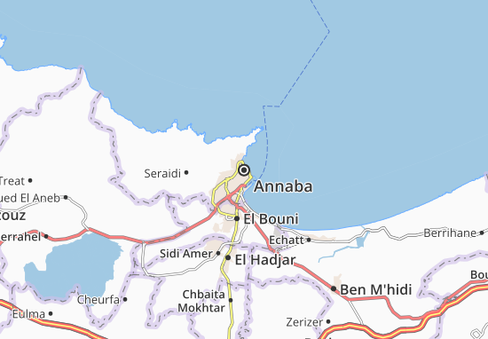 Annaba Map