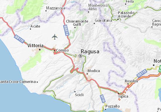 Carte-Plan Ragusa