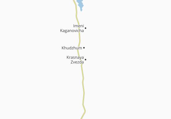 Mapa Plano Krasnaya Zvezda