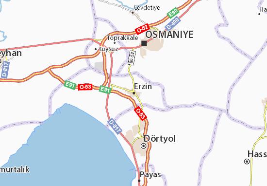 Mapas-Planos Erzin