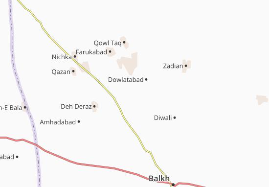 Khoshilabad Map