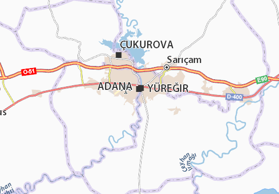 Carte-Plan Seyhan
