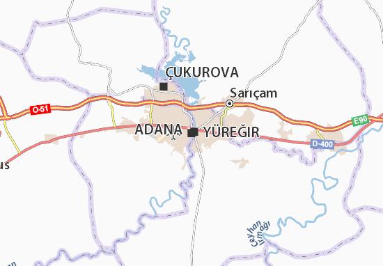 Mapa Plano Adana