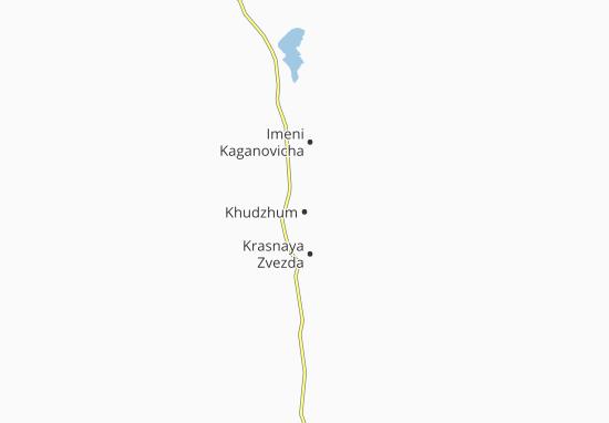 Mapa Plano Khudzhum