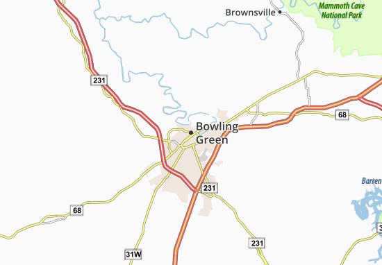 Bowling Green Map