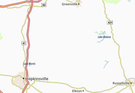 Kirkmansville Map